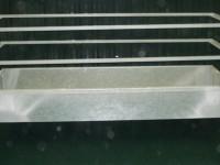 OVINO-CAPRINO - MATERIAL GANADERO-COD. 4113 COMEDERO CAJON 2 BARANDILLAS 2000 X 1000 X 790